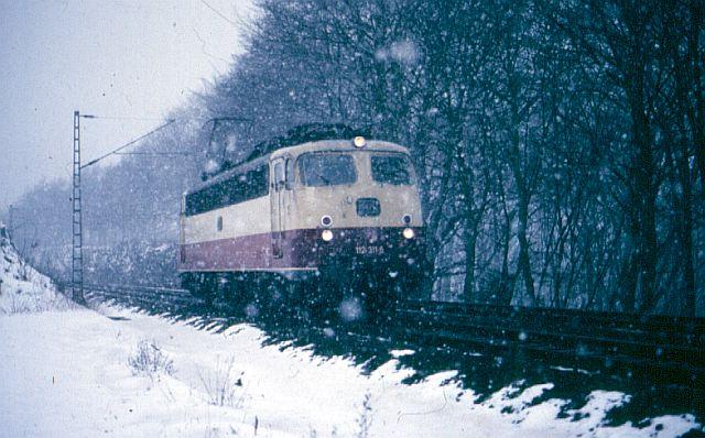 Die E-Lok Baureihe 110 / E10 der DB 112_3111