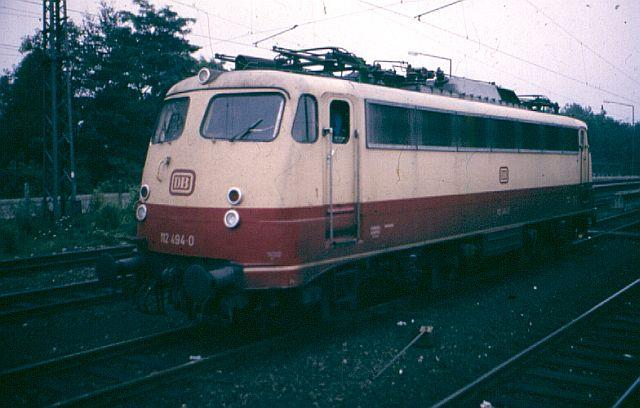 Die E-Lok Baureihe 110 / E10 der DB 112_4911
