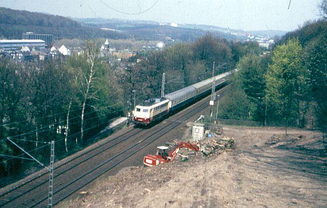 Die E-Lok Baureihe 110 / E10 der DB 112_5010