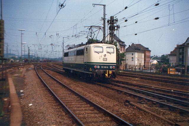 Die E-Lok Baureihe 151 der DB 151_0910