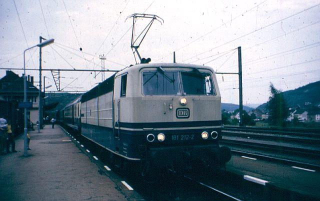 Die Baureihe 181 - die ZWEI - Systemlok 181_2111
