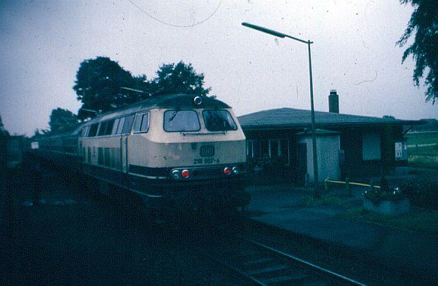 Die Baureihe 218.9 der DB - die Ex-Gasturbine 218_9011