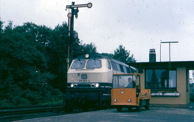 Die Baureihe 218.9 der DB - die Ex-Gasturbine 218_9012