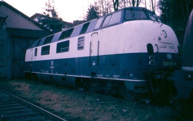 Die Baureihe 220 / V200 der DB - der Klassiker 220_0110