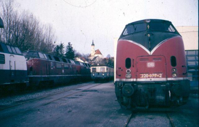 Die Baureihe 220 / V200 der DB - der Klassiker 220_0710