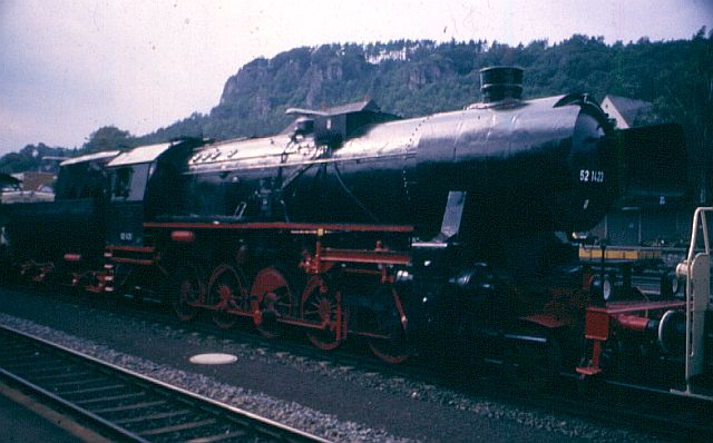Die BR 52 - die Kriegslok - und BR 52.80 sowie Kohlestaub-52 52_14210