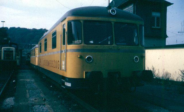 Die Baureihe 725/726 - der Gleismeßzug 726_0010