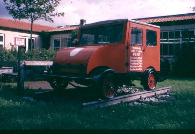 Besuch bei der Westfälischen Landeseisenbahn WLE 1987 Draisi10