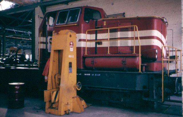 Besuch bei der Westfälischen Landeseisenbahn WLE 1987 Kbe_3410