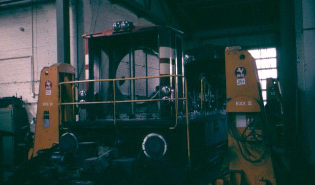 Besuch bei der Westfälischen Landeseisenbahn WLE 1987 Kbe_3411