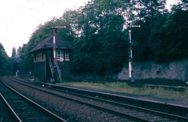 Eisenbahn-Impressionen Stellw10