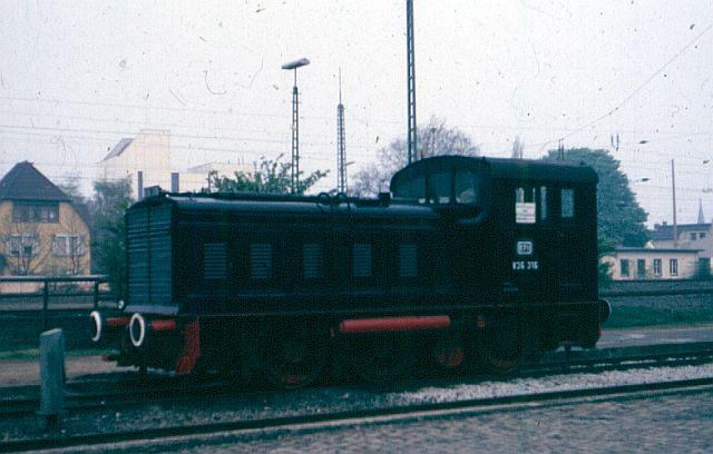 Die Diesellok der Baureihe 236 / V36 der DB - ex WR360 C14 V36_3110