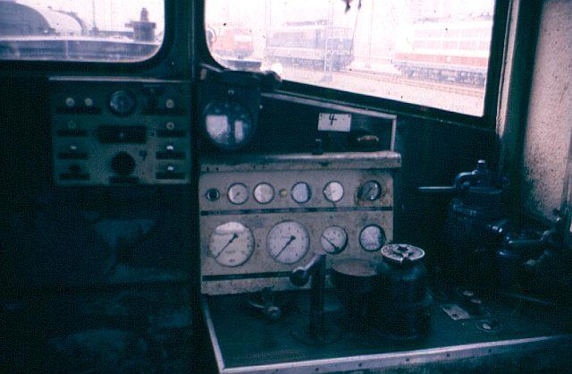 Die Diesellok der Baureihe 236 / V36 der DB - ex WR360 C14 V36_3111