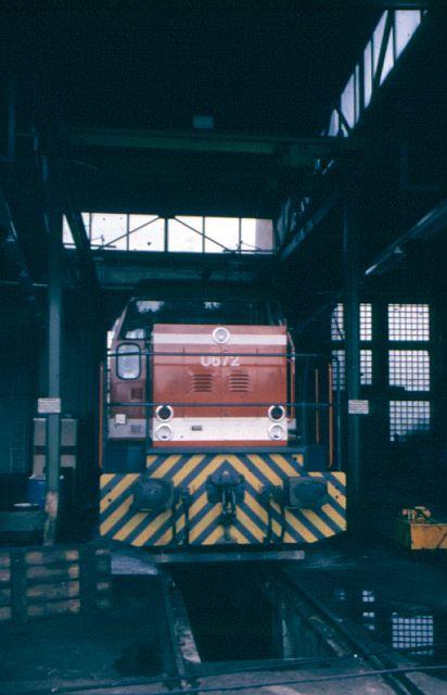 Besuch bei der Westfälischen Landeseisenbahn WLE 1987 Vl067210