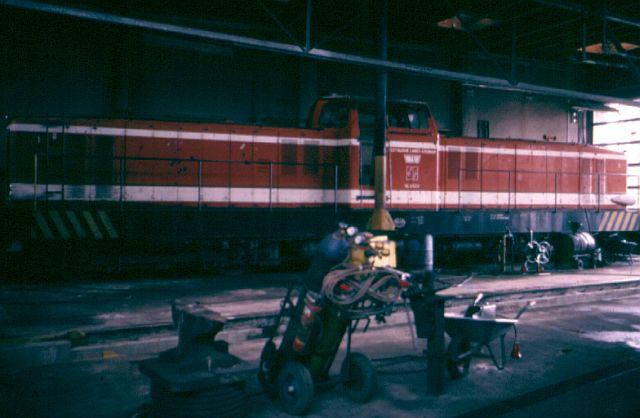 Besuch bei der Westfälischen Landeseisenbahn WLE 1987 Vl_06314
