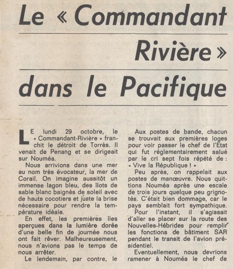COMMANDANT RIVIERE (AE) - Tome 2 - Page 7 Riviar14