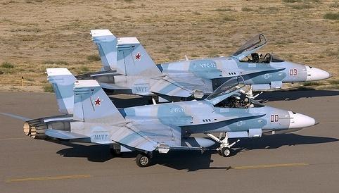 Mélanges Tamiya : Jets US Navy Aggressors Vfc-1210
