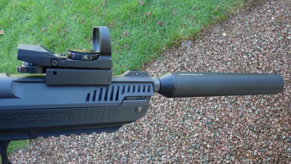 Zoraki HP-01 Light avec silencieux weihrauch et Test adaptateurs Arprotech et SKM  P1100518