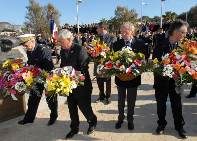 inauguration du memorial des sous mariniers de Toulon Photo211