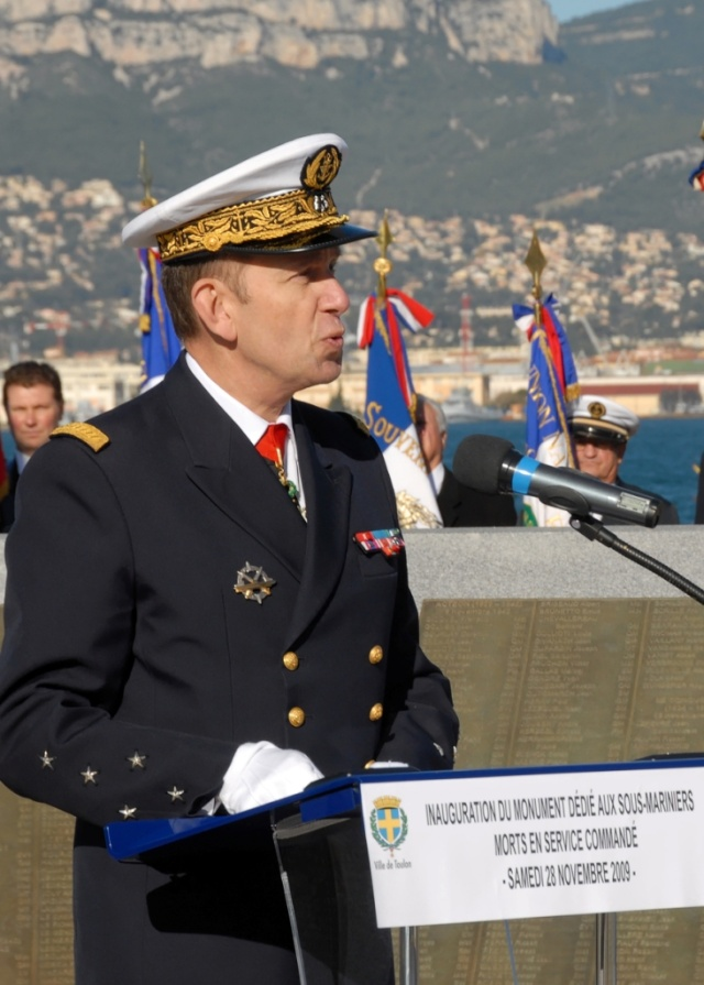inauguration du memorial des sous mariniers de Toulon Photo_13