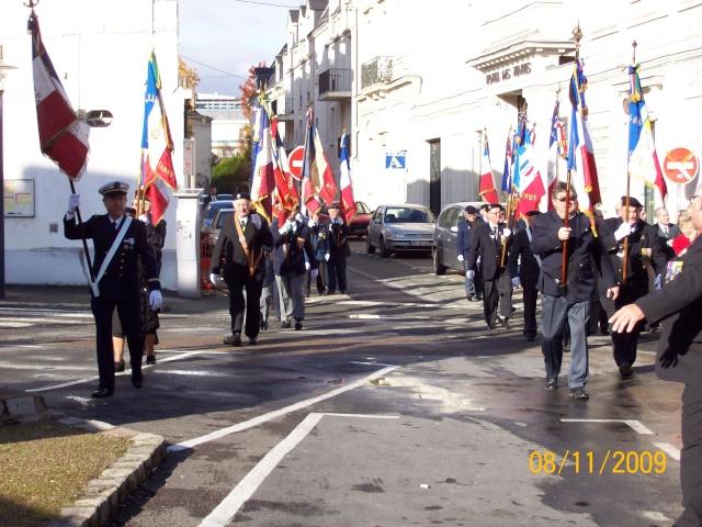 Commemoration 8 novembre 2009 à SAUMUR Remise10