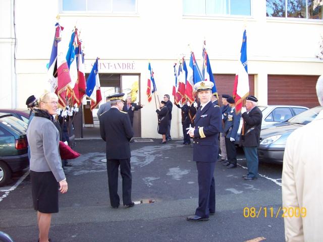 Commemoration 8 novembre 2009 à SAUMUR Remise12