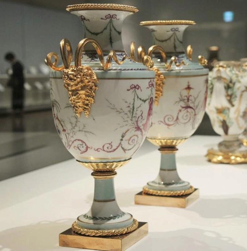 Expo Porcelaines de la cour de France à Shizuoka, Japon 2018 03b2ad10