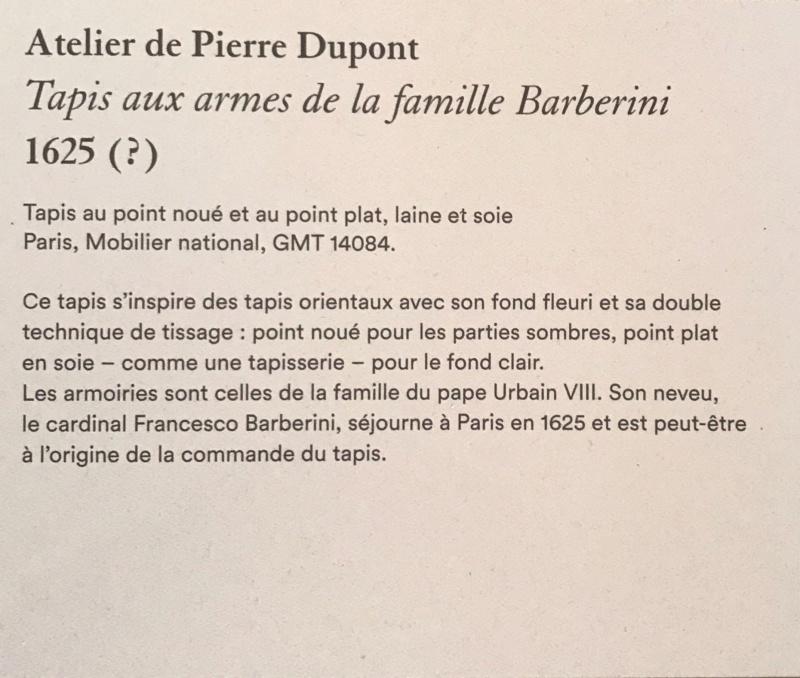 Exposition Créer pour Louis XIV, Galerie des Gobelins - Page 2 37734f10