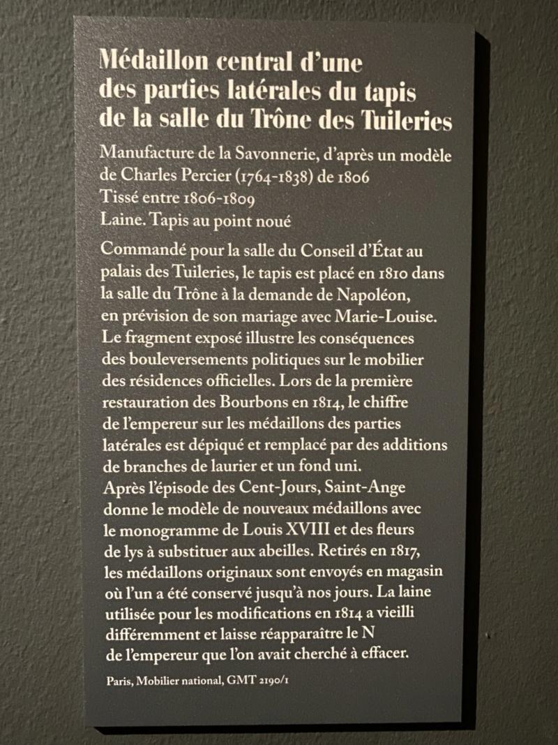 Les Palais disparus de Napoléon, au Mobilier national (2021) 6e16e610