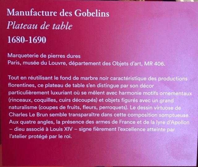 Exposition Créer pour Louis XIV, Galerie des Gobelins - Page 2 Img_4714