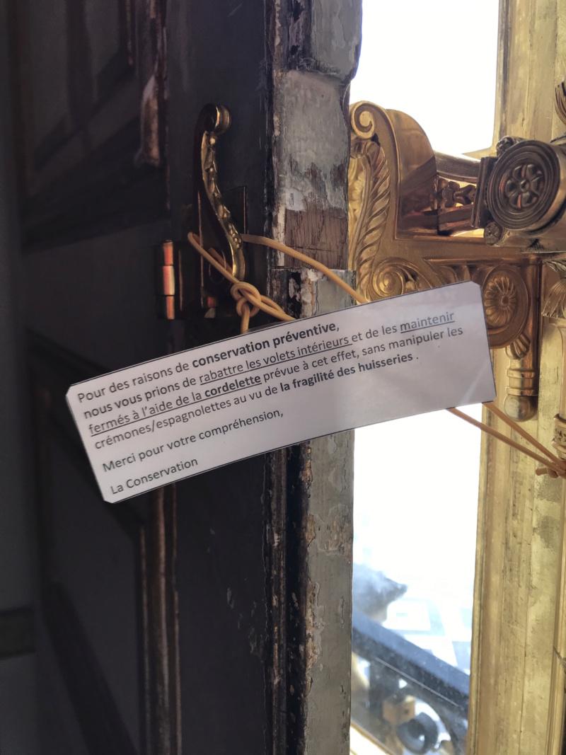 Conservation préventive Demeures historiques/châteaux-musées Img_4910