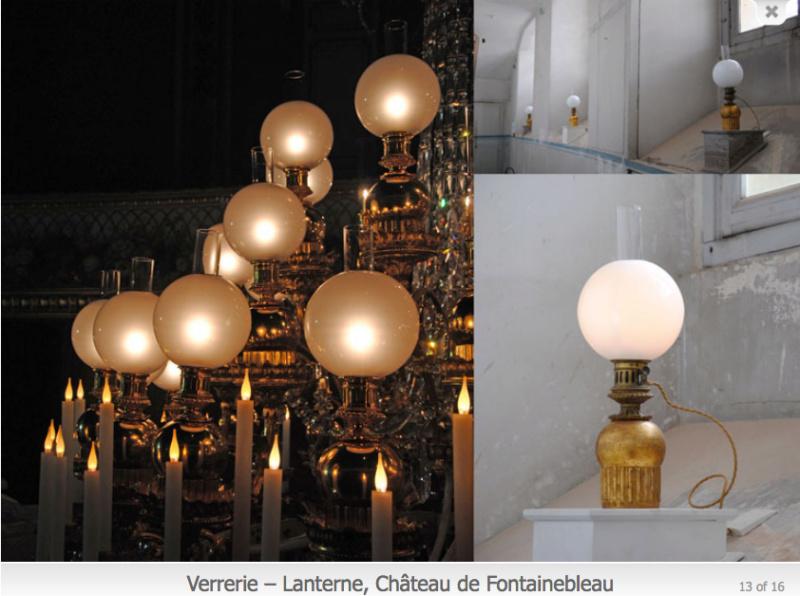 Fontainebleau, Exposition Louis-Philippe en 2018 - Page 2 Lampes12