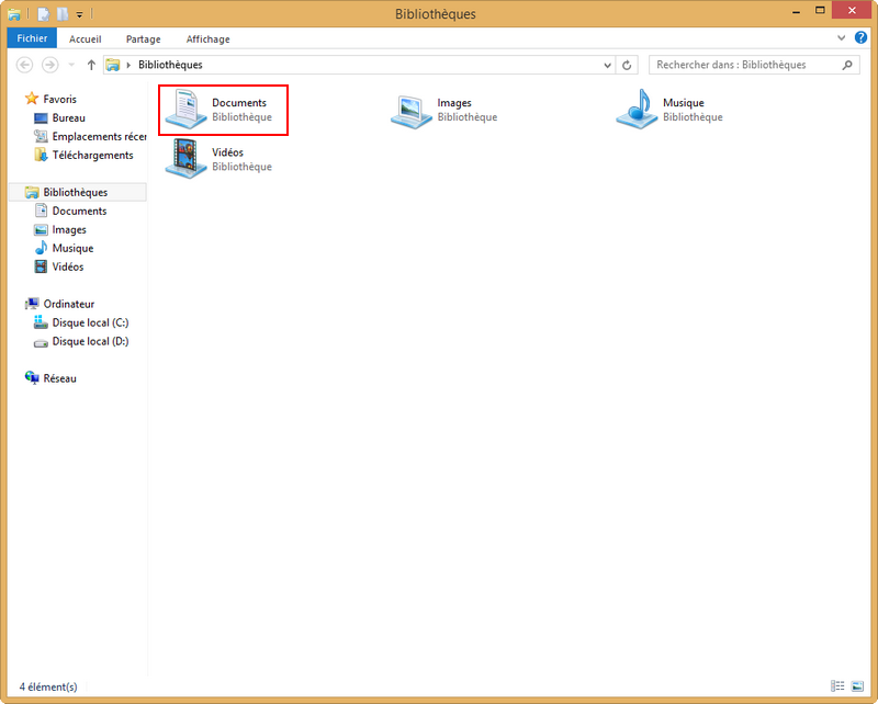 Installation packages sous Windows 8 210