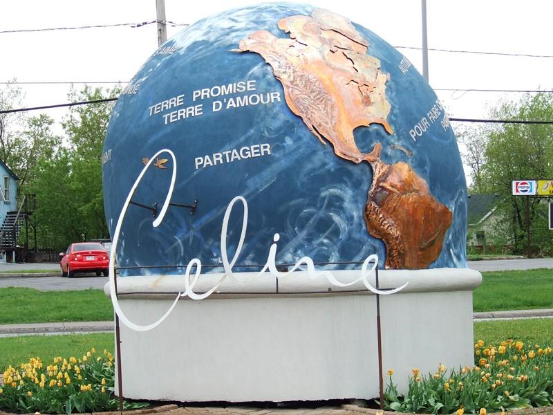 Globes terrestres visibles depuis les cieux 13693910
