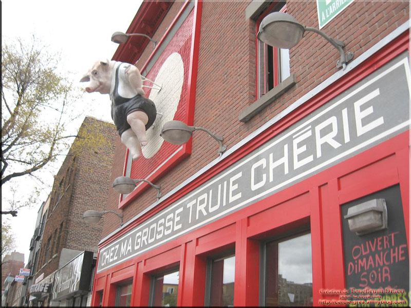[Canada] - Chez ma grosse truie chérie - Montréal 3_201010
