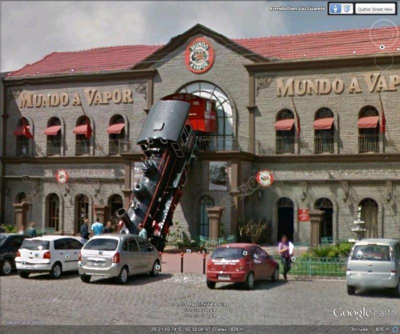 Musée Mundo a vapor - Canela - Brésil Sv11