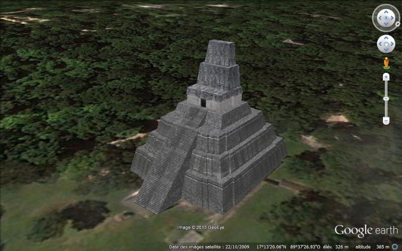 Le temple Tikal II - Guatemala, victime du 21 décembre 2012 Tikal210
