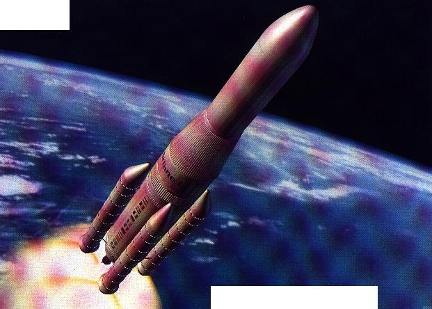 Utilisation d'Ariane 5 pour livrer du matériel sur la lune Ariane10