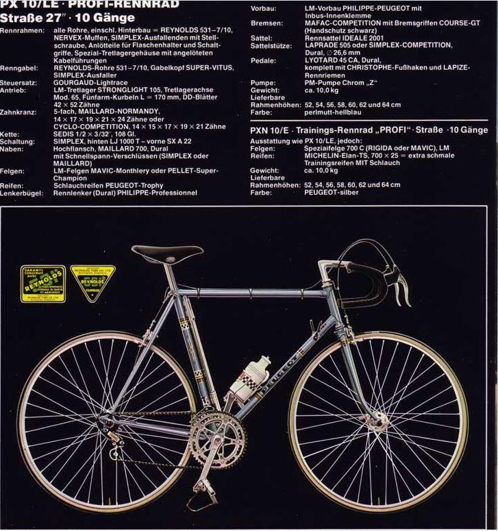 Le Peugeot PX 10 de 77 du grand-père qui n'aimait pas le vélo  Captur12