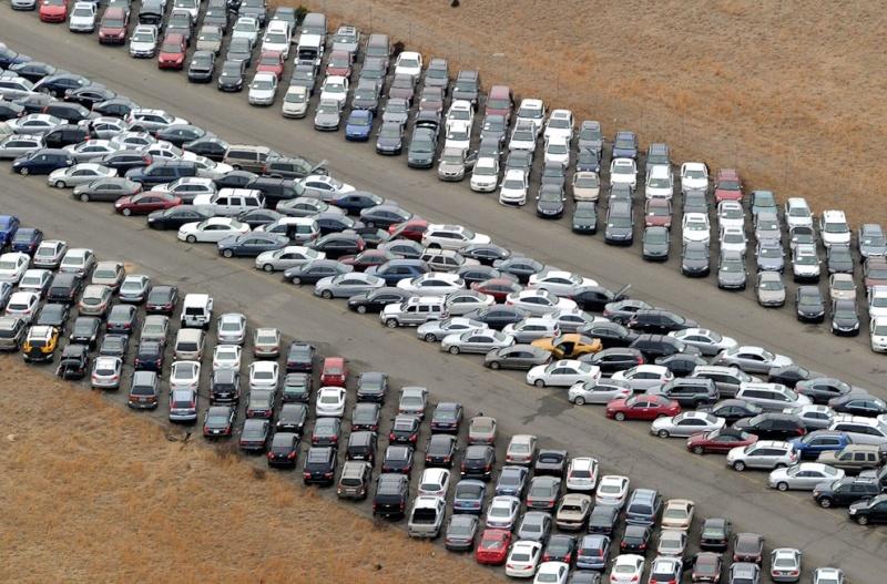 """Où sont les 230 000 voitures endommagées par l'ouragan """"Sandy"""" ? Calver11"""