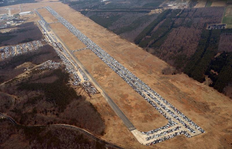 """Où sont les 230 000 voitures endommagées par l'ouragan """"Sandy"""" ? Calver13"""