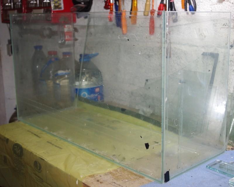 Reconditionnement d'un aquarium 80-30-10