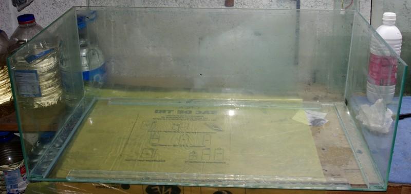 Reconditionnement d'un aquarium 80-30-12