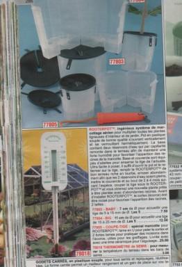 recipient pour faire les marcotages aérien Boutur10