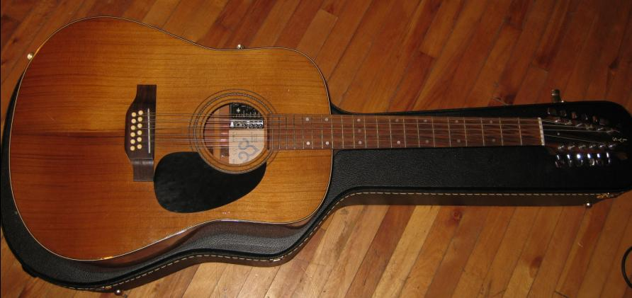 Guitare 12 cordes Lys Lys0111
