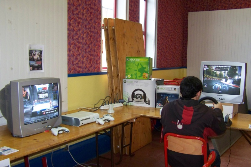 Le club Jeux Vidéo de PINON au Téléthon le 4 & 5 décembre 2009 210