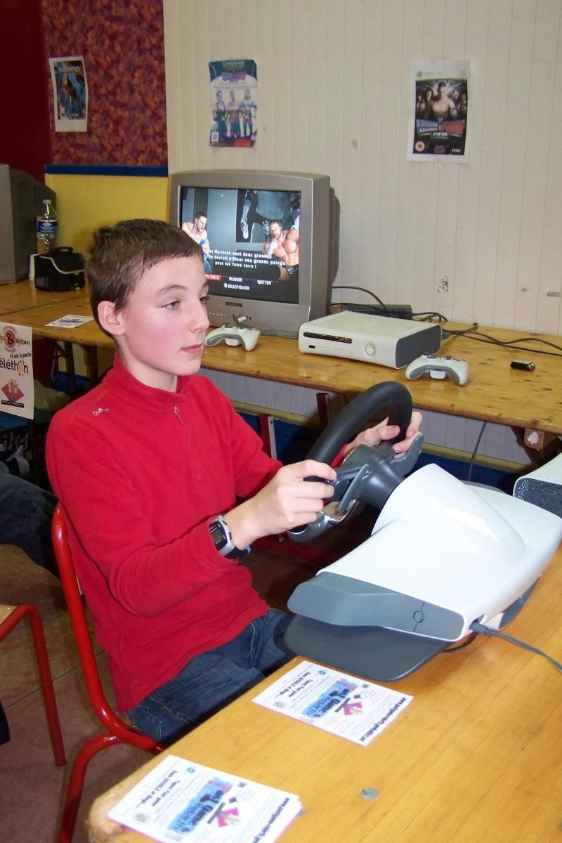 Le club Jeux Vidéo de PINON au Téléthon le 4 & 5 décembre 2009 710