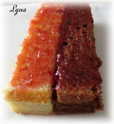Gâteau Battenberg au chocolat et amandes Batten13
