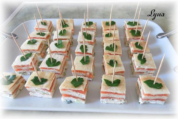 Bouchées de saumon fumé Bouchz11