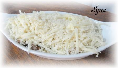 Gratin de champignons Champi10